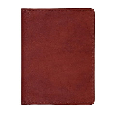Scully Western Address Book Soft Plonge Leather Telephone - Chocolate - One Size