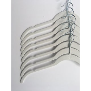 Closet Spice Ultra Thin Non-Slip Velvet Blouse Hangers with 360º Chrome Swivel Hook and Notches - Set of 40