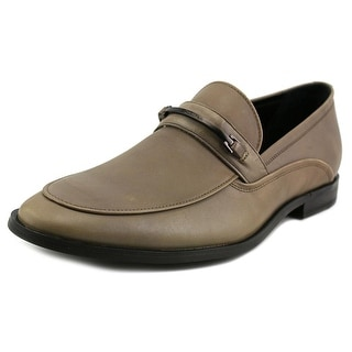 Calvin Klein Nordon Round Toe Leather Loafer