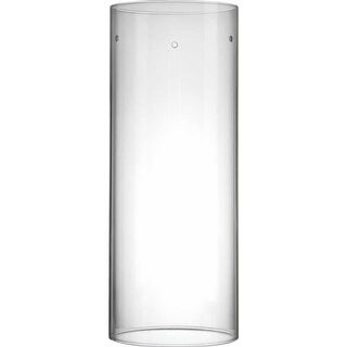 "Volume Lighting GS-307 8"" Height Clear Glass Cylindrical Shade"