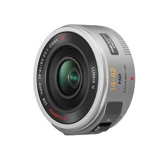 Panasonic Lumix G X Vario PZ 14-42mm f/3.5-5.6 Power O.I.S. Lens (Silver) - Silver
