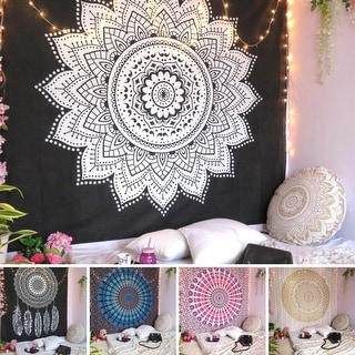 Link to Bohemian Mandala Tapestry Wall Hanging Indian Gold Throw Home Decor Similar Items in Decorative Accessories