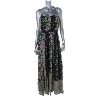 French Connection Womens Chiffon Floral Print Maxi Dress - 4