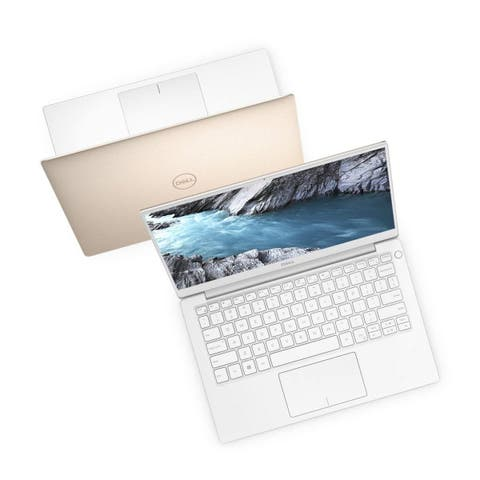 """Dell XPS 9380 Intel Core i7-8565U X4 4.6GHz 8GB 256GB SSD 13.3"""" Touch,Gold(Certified Refurbished)"""