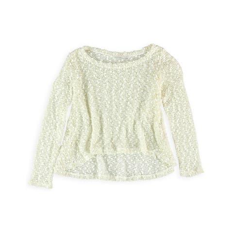 Aeropostale Girls Marled Knit Sweater