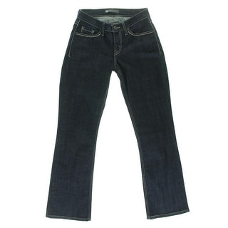 Levi's Womens 529 Indigo Wash Curvy Bootcut Jeans - 6