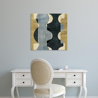 Easy Art Prints 's 'Geometric Deco I' Premium Canvas Art
