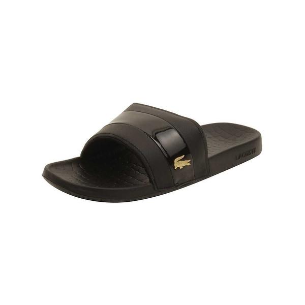 239e1db866390 Shop Lacoste Men s Fraisier 118 1 U Slide Sandal - Free Shipping On ...