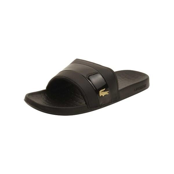 0b820a2ffed6d Shop Lacoste Men s Fraisier 118 1 U Slide Sandal - Free Shipping On ...
