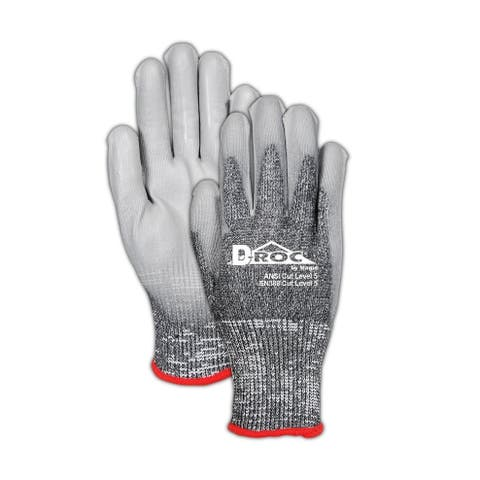 Magid ROC8000TL mGard Men's Max Defense Work Gloves, Large
