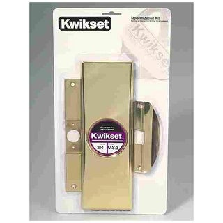 "Kwikset 92150-001 Modernization Kit, 3-3/8"" x 7-1/4"""