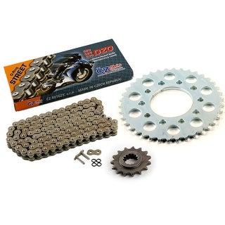 1991 1992 Honda CB750 Nighthawk 750 CZ DZO O-Ring Chain & Sprocket Kit 15/38 110
