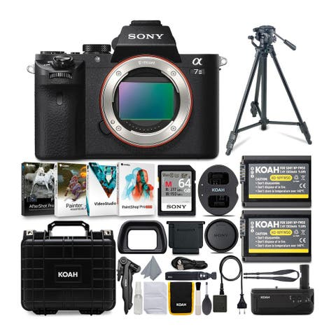 Sony Alpha a7 II Mirrorless Camera (Body Only) and Accessories Bundle