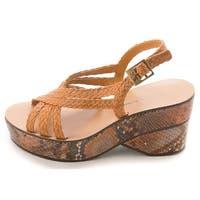 Stephane Kélian Womens 287431-50 Leather Open Toe Casual Strappy Sandals
