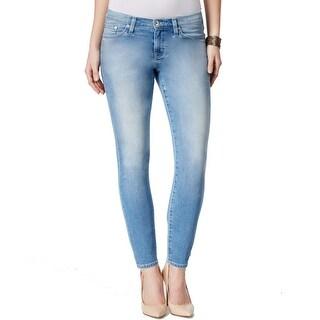 Big Star NEW Blue Women's Size 30X26 Capri Cropped Stonewashed Jeans