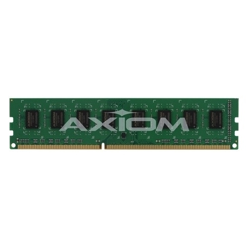"""Axion A7303660-AX Axiom 4GB DDR3 SDRAM Memory Module - 4 GB - DDR3 SDRAM - 1600 MHz DDR3-1600/PC3-12800 - 1.35 V - ECC -"