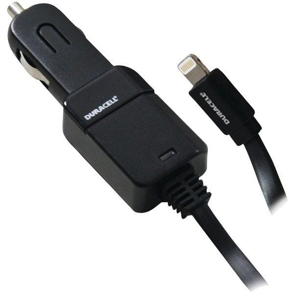 Duracell Pro323 2.1-Amp Car Charger With Lightning(R) Cable