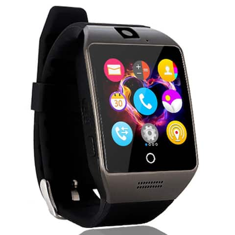 AGPtek Q18s Smart Watch LCD Touch Intelligent Wristwatch with Camera NFC for Android - SIZE
