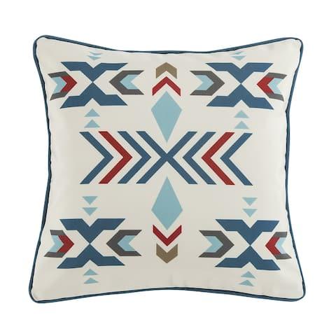 HiEnd Accents Spirit Valley Outdoor Pillow, 20x20