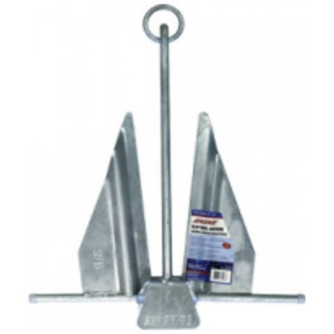 SeaSense 50074569 Galvanized #13 Slip Ring Anchor, 8 Lb