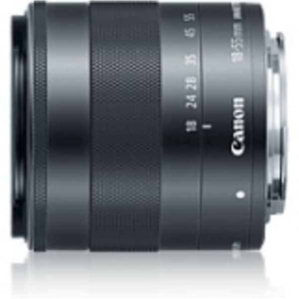 Canon - 18 mm to 55 mm - f/3.5 - 5.6 - Zoom Lens for Canon EF-M - (Refurbished)