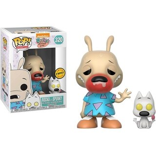 Nickelodeon Rocko's Modern Life POP Vinyl Figure: Rocko and Spunky (Chase) - multi