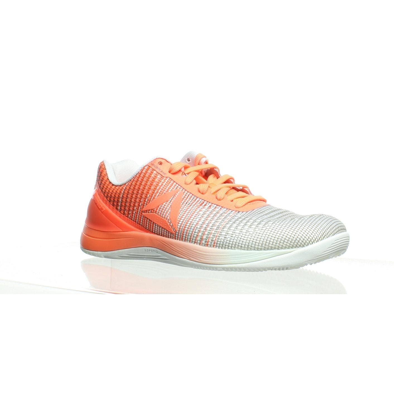 Reebok Womens Crossfit Nano 7 Orange Cross Training Shoes Size 8.5