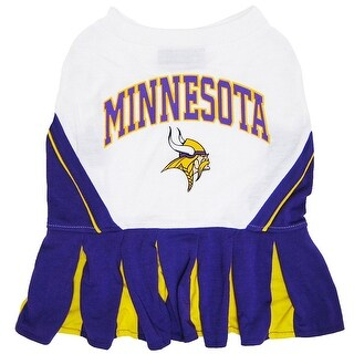 NFL Minnesota Vikings Cheerleader Dress For Dogs And Cats