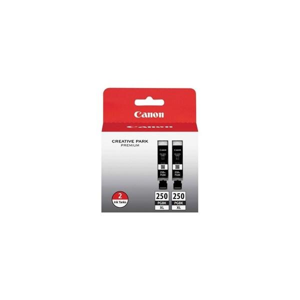 Canon PGI-250XL Black Ink Cartridge (Single Pack) PGI-250XL Black Twin Pack