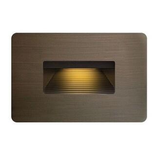Hinkley Lighting 15508MZ 3.8w 2700K Cast Brass LED Step Light
