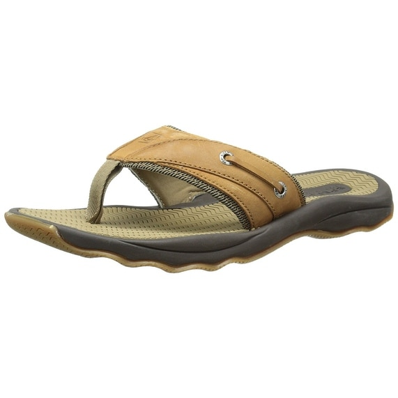 4480d15536daa2 Shop Sperry Top-Sider Men's Outer Banks Thong Sandal - Free Shipping On  Orders Over $45 - Overstock - 17637085