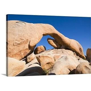 Premium Thick-Wrap Canvas entitled Arch Rock