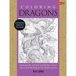 Walter Foster - Pictura Coloring Book - Nature
