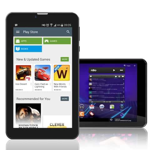 Indigi® 7inch HD DualCore Android 6.0 Marshmallow Multimedia TabletPC w/ Bluetooth + WiFi + Google Play Store + Dual Camera