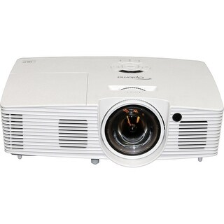 """""""Optoma X316ST Optoma X316ST XGA 3400 Lumen Full 3D Short Throw Projector with 20,000:1 Contrast Ratio - Front, Rear, Ceiling2.8"""