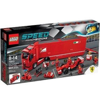 LEGO Speed Champions F14 T & Scuderia Ferrari Truck 884-Piece Building Set