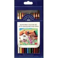 Blendable Color - Pro Art Fantasia Colored Pencils 10/Pkg