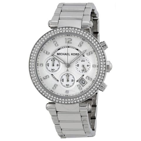 Parker Chronograph Silver Dial Ladies MK5353 Watch - One Size