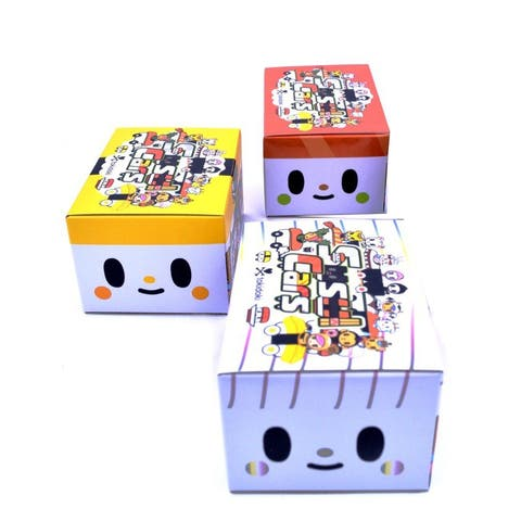 Tokidoki Sushi Cars Blind Box Lot of 3 - multi