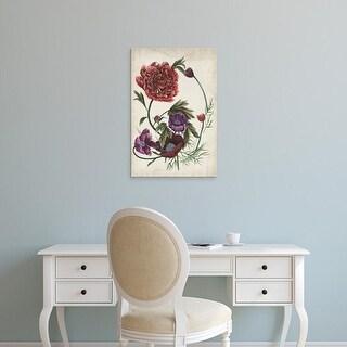 Easy Art Prints Melissa Wang's 'Antique Peony I' Premium Canvas Art