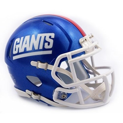 huge selection of 98205 d03a7 New York NY Giants Color Rush Riddell Full Size Deluxe Replica Speed  Football Helmet