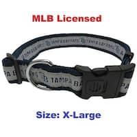 MLB Tampa Bay Rays Dog Collar - Extra large