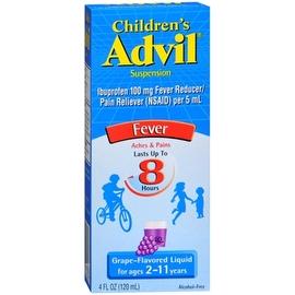 Advil Children's Suspension, Grape 4 oz