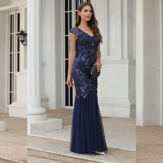 Ever-Pretty Women Elegant Mermaid Formal Evening Dresses 00923
