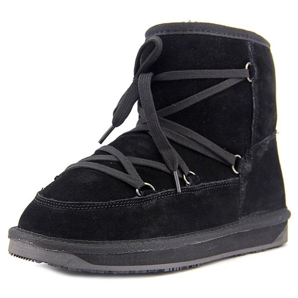 Shop Booroo Ainsley Women Round Toe Suede Black Winter