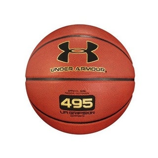 Under Armour Unisex 495 Official Basketball, Brown, 29.5