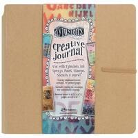 "Dyan Reaveley's Dylusions Creative Journal-Kraft 8.75""X9"""