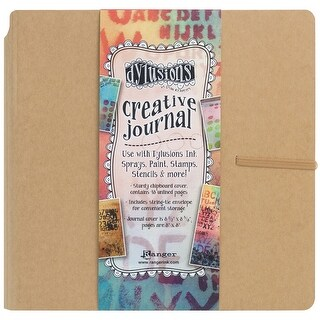"Dyan Reaveley's Dylusions Creative Journal-Kraft 8.75""X9"""