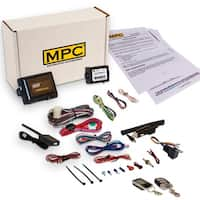 Complete 2-Way LCD Remote Start Kit With Keyless Entry and Data Module For 2008-2010 Ford F-350