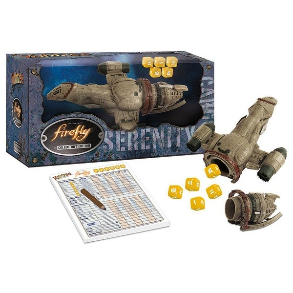 Yahtzee: Firefly Edition Board Game - multi